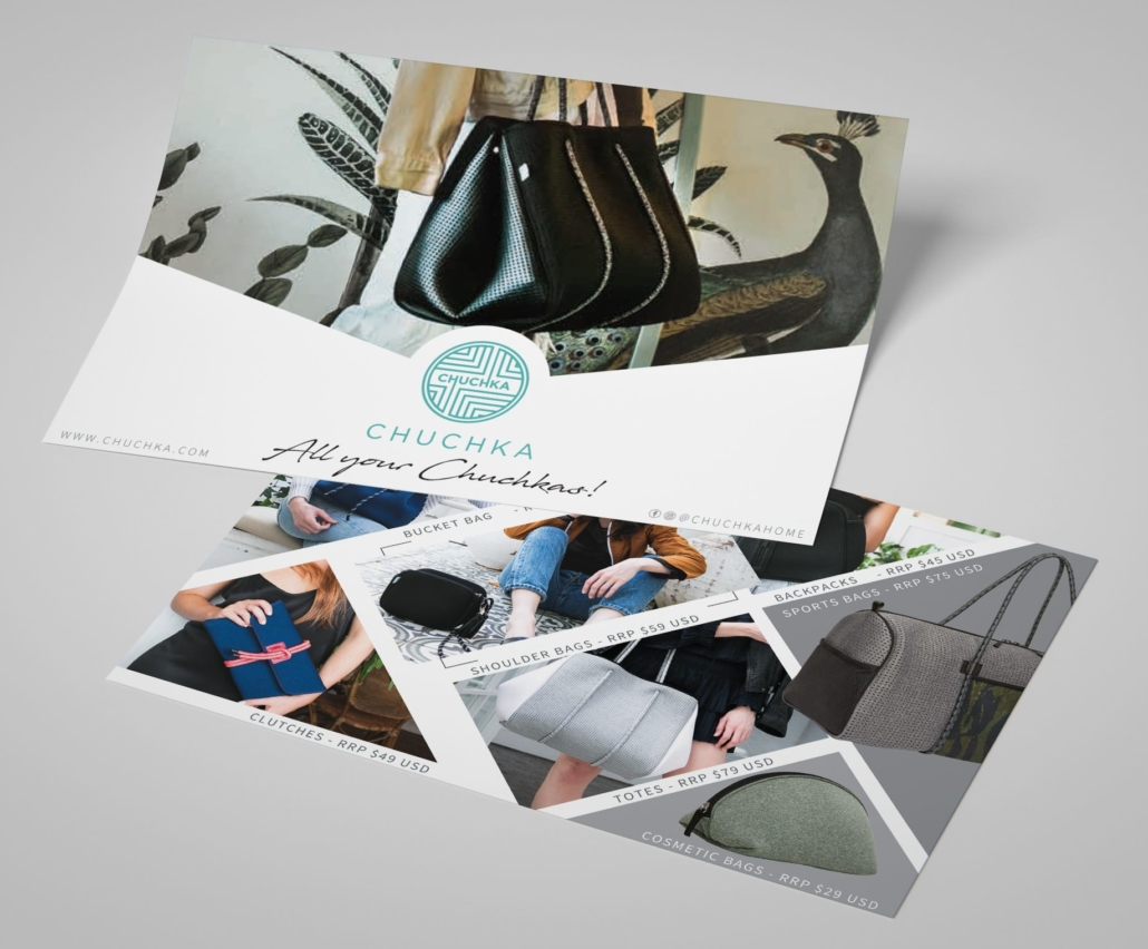 marketing to gift shops   postcard
