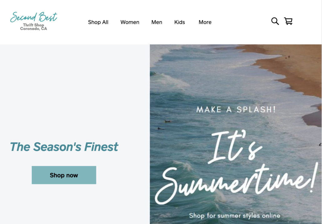 Coronado Gift Shop online store