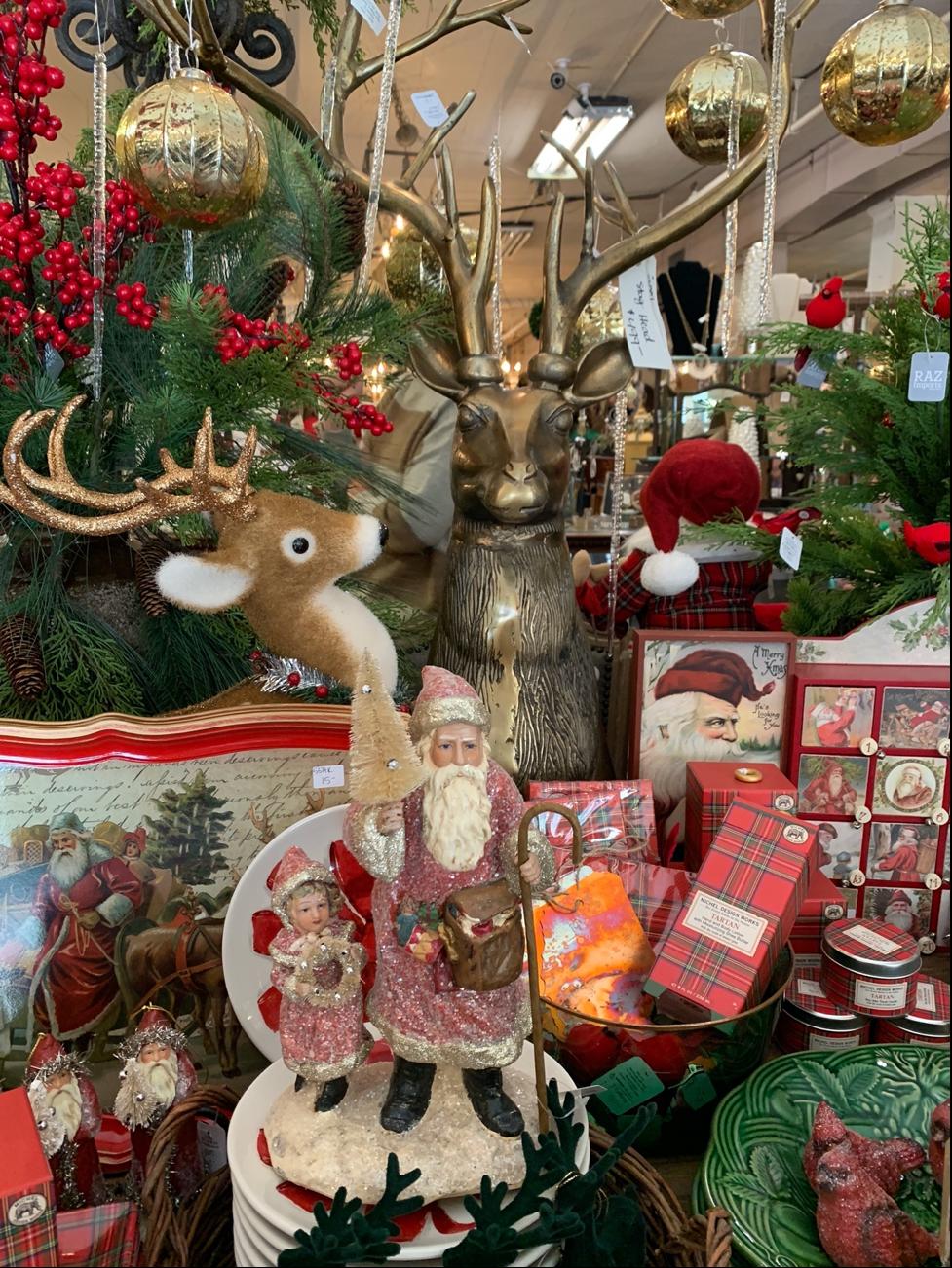 christmas retail display