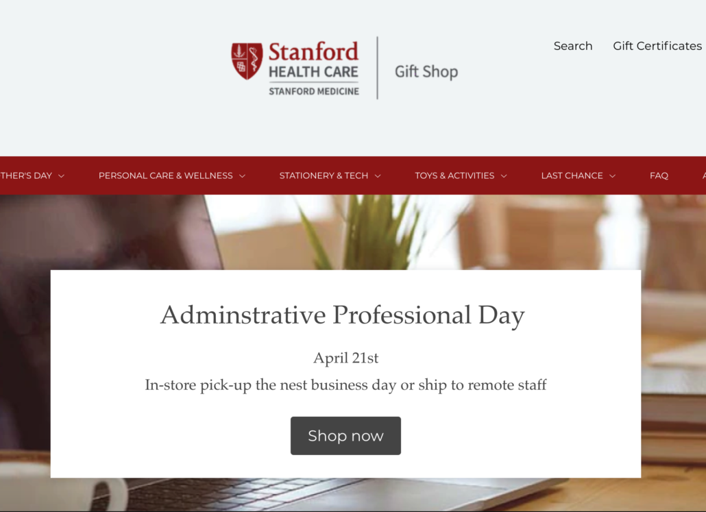Stanford Health Care Gift Shop